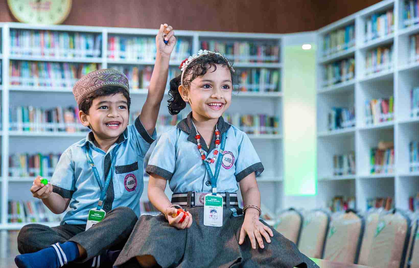 Ma'din Public School KG Section